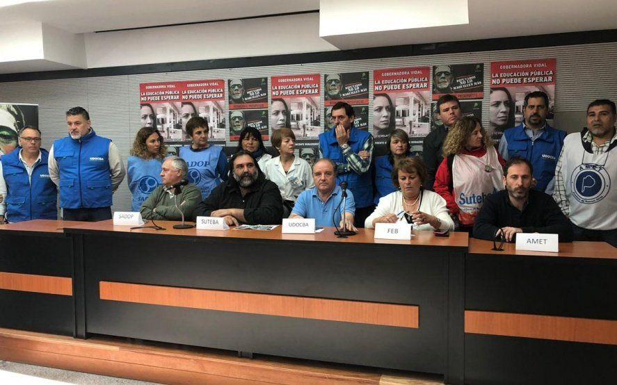A la espera de un acuerdo, Provincia convocó a docentes a una Comisión Técnica salarial