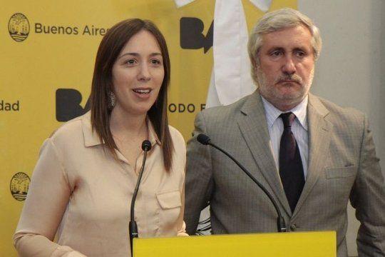 El Procurador Conte Grand, con la ex Gobernadora Vidal