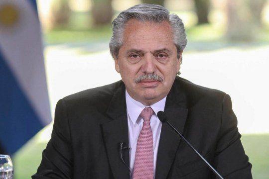 Alberto Fernández encabeza un acto desde Ezeiza