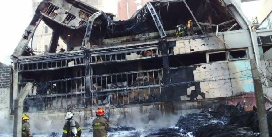 El comunicado de la Cervecería Quilmes tras el incendio