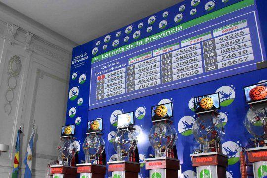 El primer premio del sorteo fue para el número 55.820.