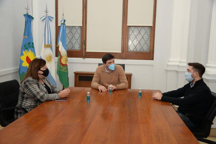Ezequiel Galli se reunió a principio de mes con Lucrecia Egger y su primo Hilario Galli. Así es la fórmula PRO para las elecciones de la séptima.