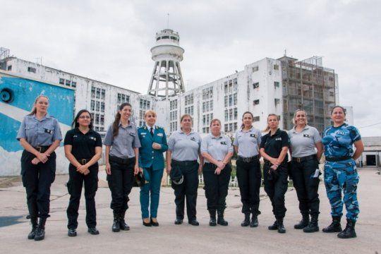 ya son dos las mujeres que integran la cupula del servicio penitenciario bonaerense
