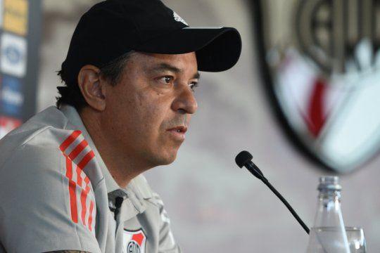 Marcelo Gallardo y una nueva mala pasada en conferencia.