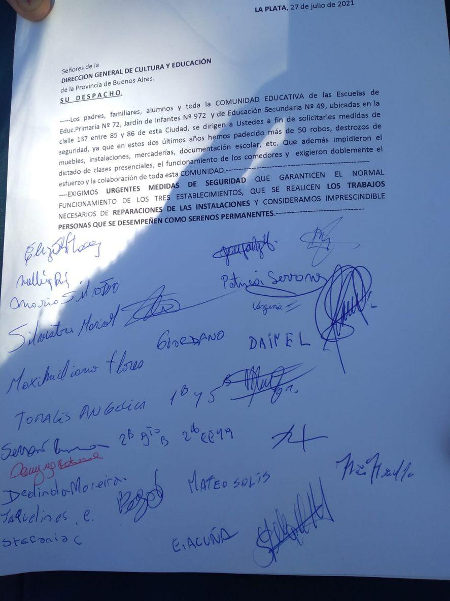 La Plata: reclaman medidas ante 50 robos en dos años en un predio educativo