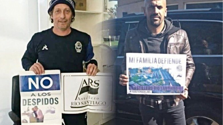 Los clubes de La Plata unidos por la causa del Astillero Río Santiago