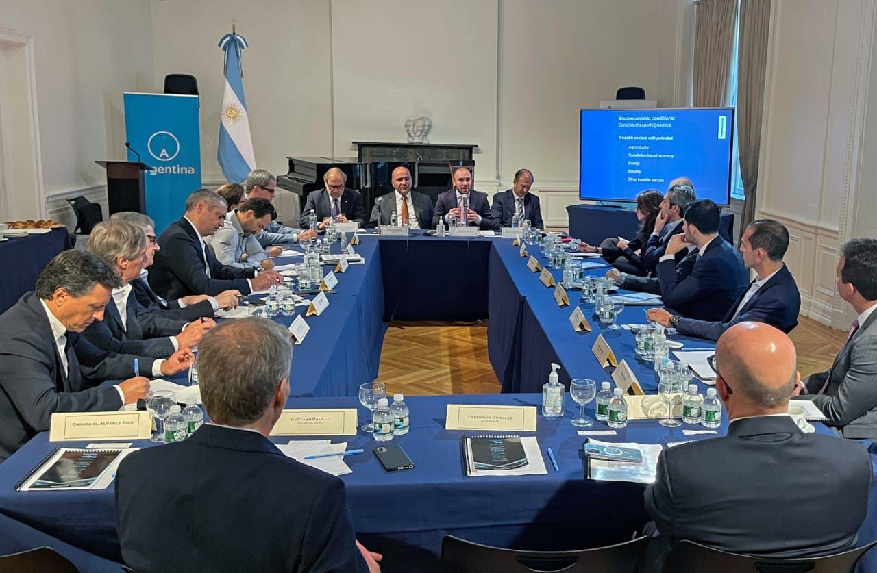 Juan Manzur y Martín Guzmán buscan inversiones en Estados Unidos