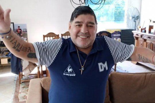 Maradona se muda a un barrio privado en Brandsen, para estar cerca de Gimnasia