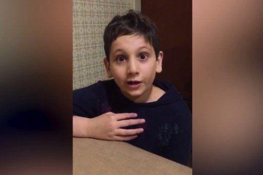 solidaridad: tiene 10 anos y pide ayuda para su amigo que necesita un trasplante de medula