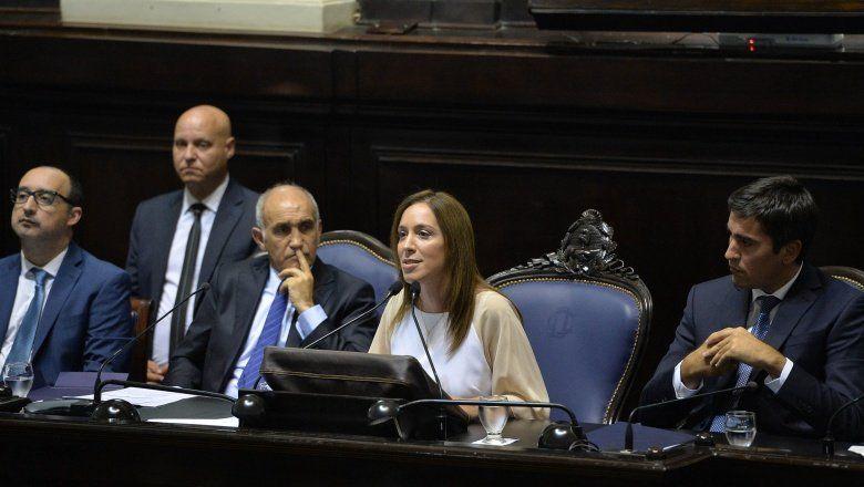 Discurso de Vidal en Asamblea: repaso de gestión y la mira en un segundo mandato