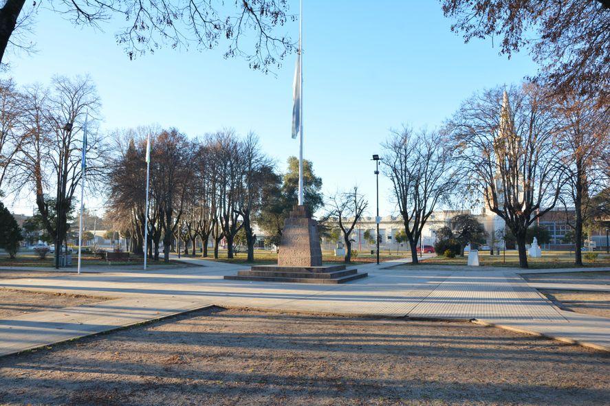 Plaza principal de Brandsen