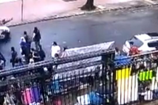 difunden el video del conductor que atropello a una mujer en la protesta contra ioma