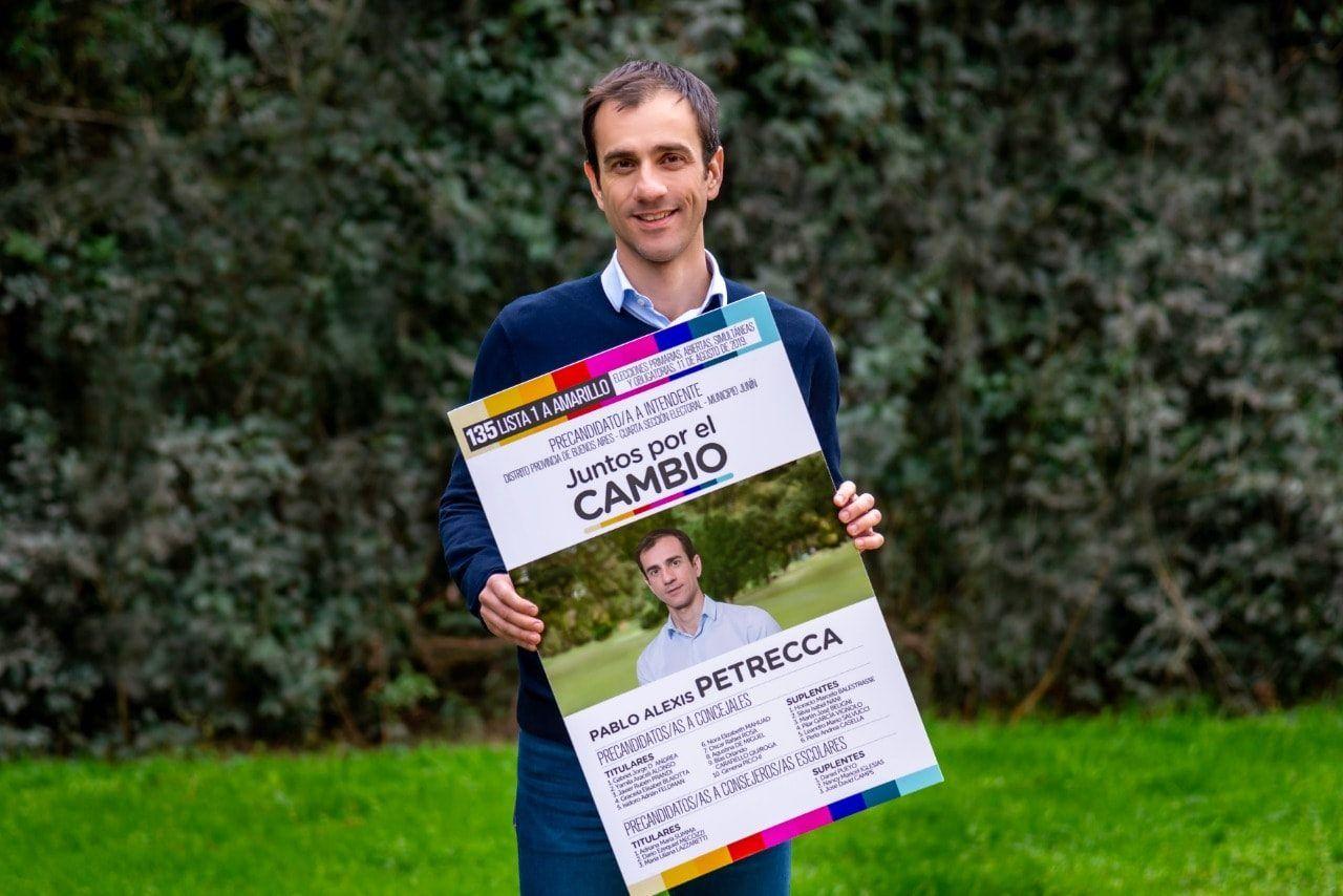 Pablo Petrecca encabeza el PRO de Junín dentro de la coalición Juntos