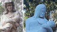 la nueva estatua a las madres que se parece a elena highton de nolasco