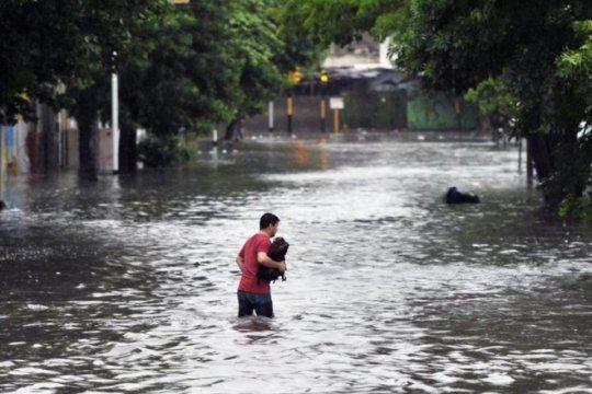 la otra cara de las inundaciones: se ejecuto menos de la mitad del presupuesto destinado a prevenirlas
