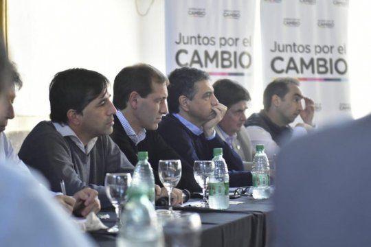 vidal le pidio a sus intendentes y legisladores que trabajen ?en bloque? como oposicion