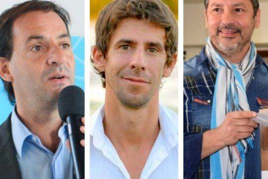 en la primera seccion, tres intendentes del peronismo se disputan el record de votos