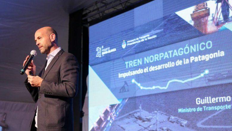Dietrich pasó por Bahía Blanca y aseguró que el tren a Vaca Muerta generará 10 mil puestos de trabajo