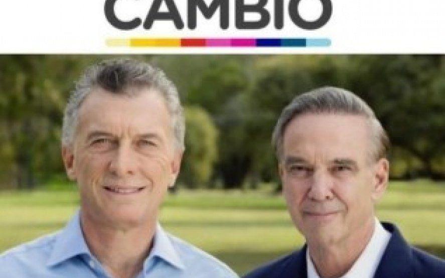 """El oficialismo también presentó su boleta presidencial: Macri y Pichetto con la """"etiqueta"""" de Cambiemos"""