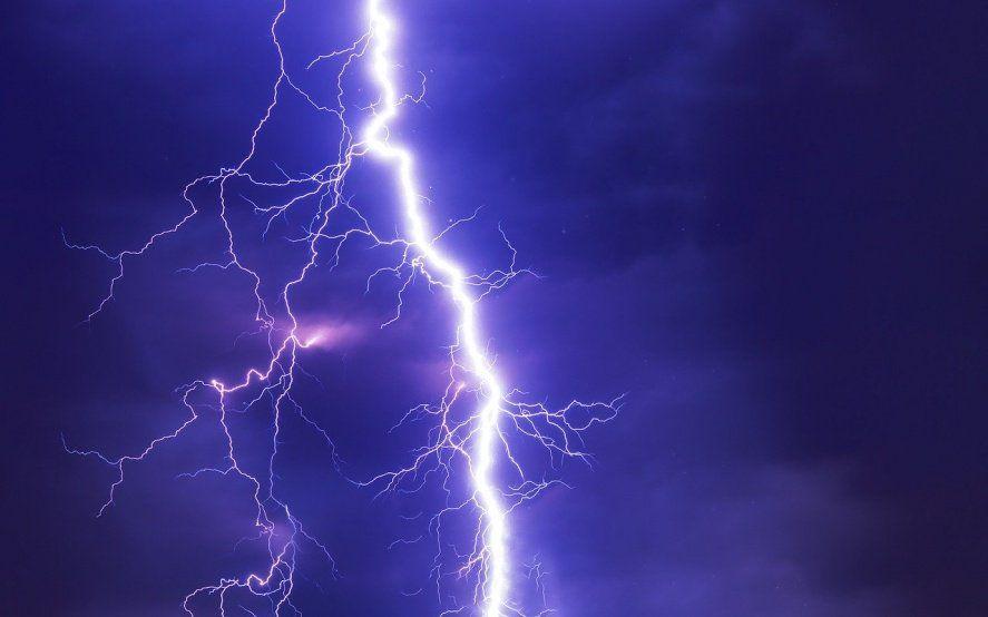 Alerta meteorológico por tormentas fuertes y posible granizo en varios sectores de la Provincia