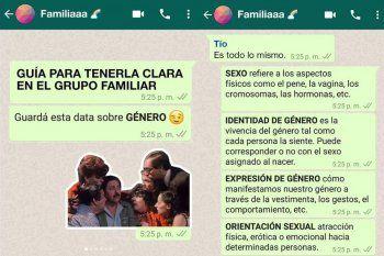 Los posteos de Fundación Huésped generaron debate en las redes sociales