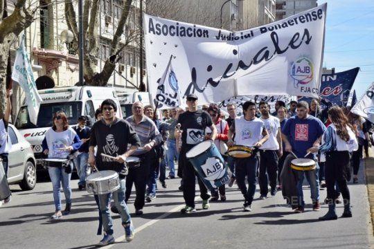 La paritaria judicial no arrojó resultados tras la reunión de la AJB con Ruiz Malec