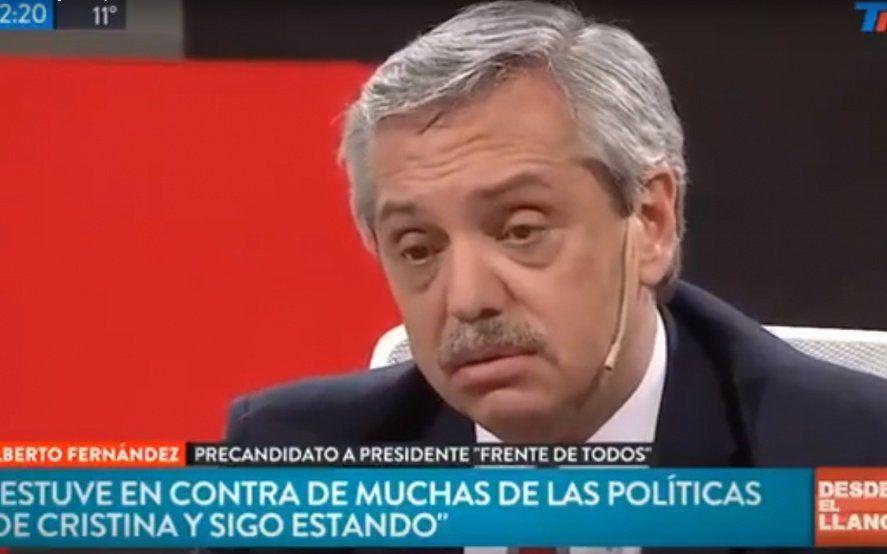 Un periodista de TN apuró a Alberto Fernández con la herencia pero le salió al revés