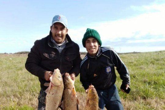 cinco hermanos fueron a pescar al rio salado y cuatro se ahogaron: de ellos hay dos desaparecidos