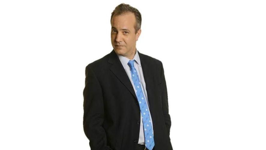 El periodista y meteorólogo Diego Angeli