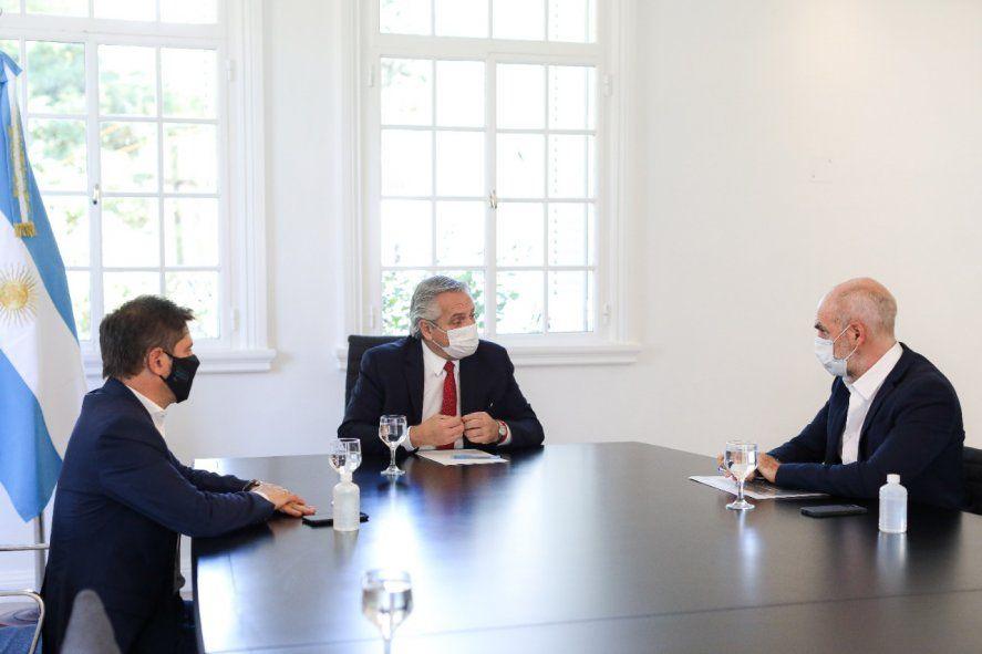 """A diferencia de hace tres semanas, Alberto Fernández implementó fuertes restricciones. Kicillof, en modo """"te lo dije""""."""