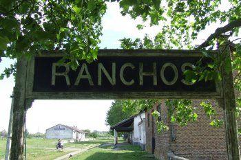 La estación de Ranchos, partido de General Paz.