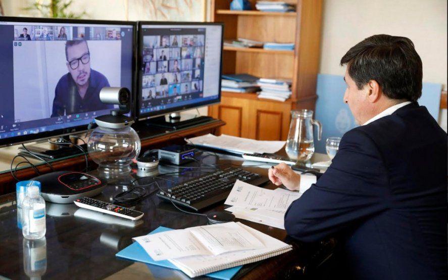 Junto a Tinelli, Arroyo encabezó la segunda reunión del Consejo contra el Hambre