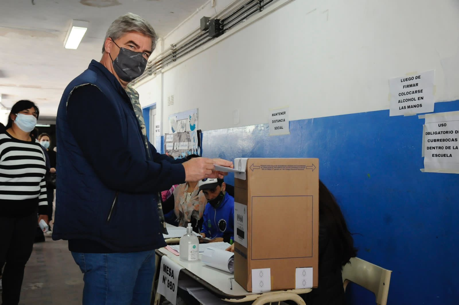 El candidato ganador de La Plata, Javier Mor Roig
