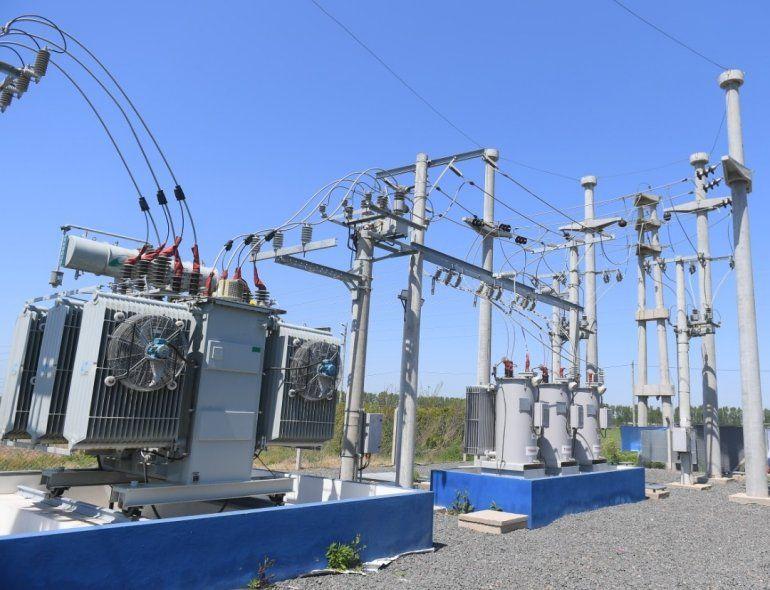 EDEN inauguró estación transformadora en Chivilcoy