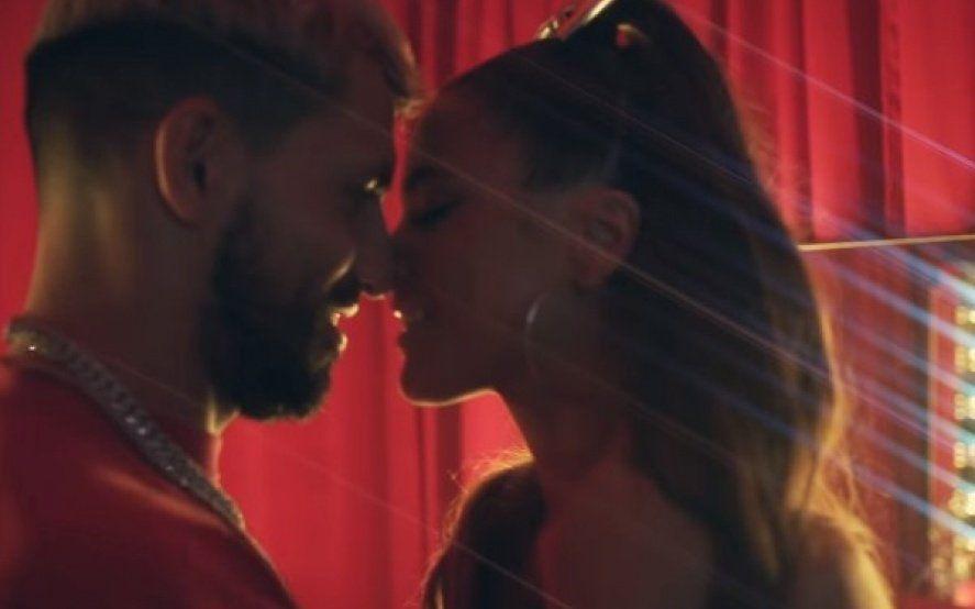 Explosivo estreno del video de Tini Stoessel junto al Kun Agüero y Pablito Lescano