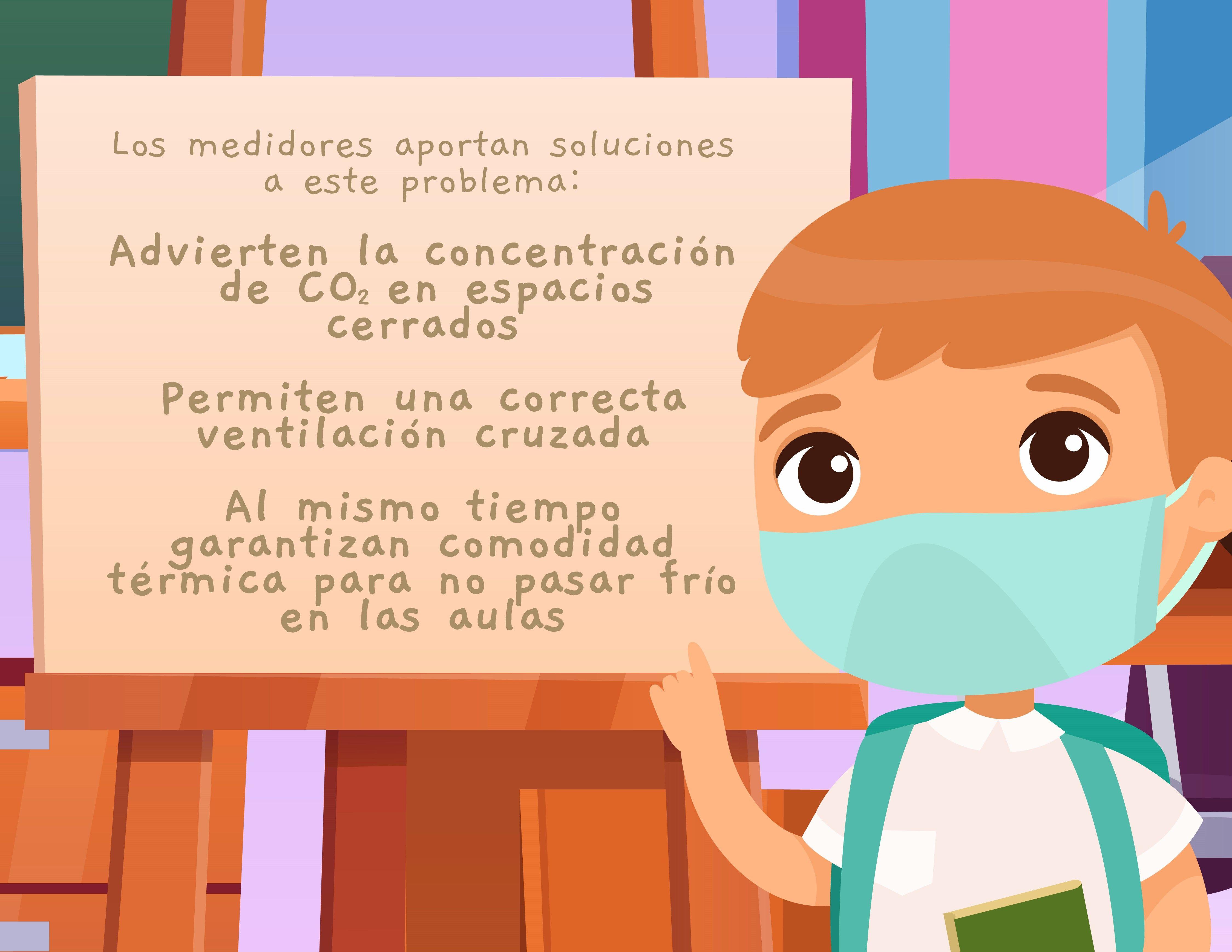 La provincia de Buenos Aires distribuyó 33 mil medidores de Co2 para escuelas