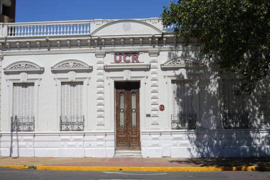 El comité provincia de la UCR bonaerense