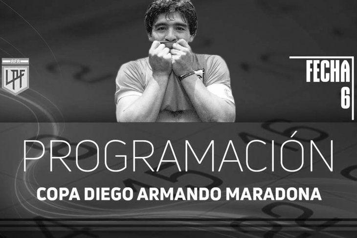 La Copa LPF ahora se llama Copa Diego Maradona.