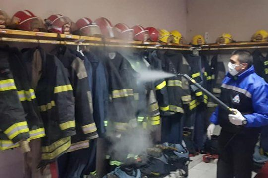 berisso: un bombero se contagio de coronavirus y otros tres permanecen aislados