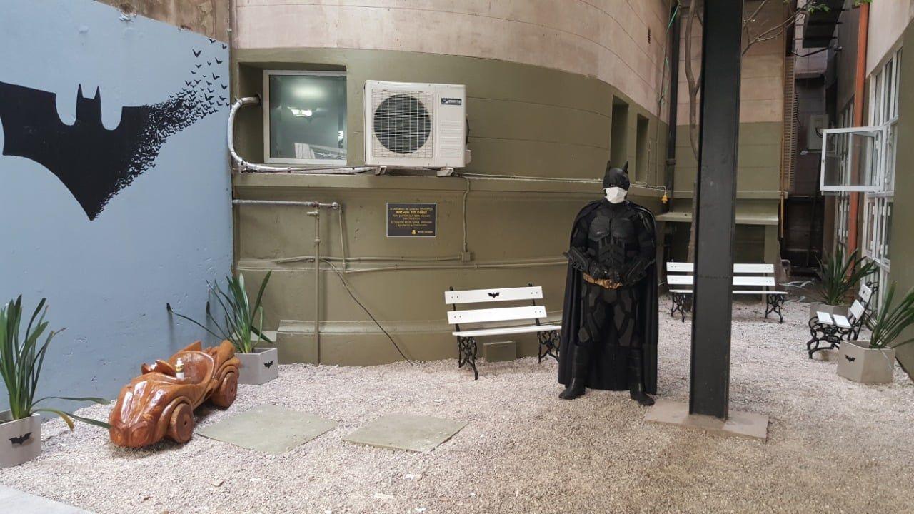 Batman Solidario anunció que no hará más trabajos de mantenimiento en el Hospital de Niños