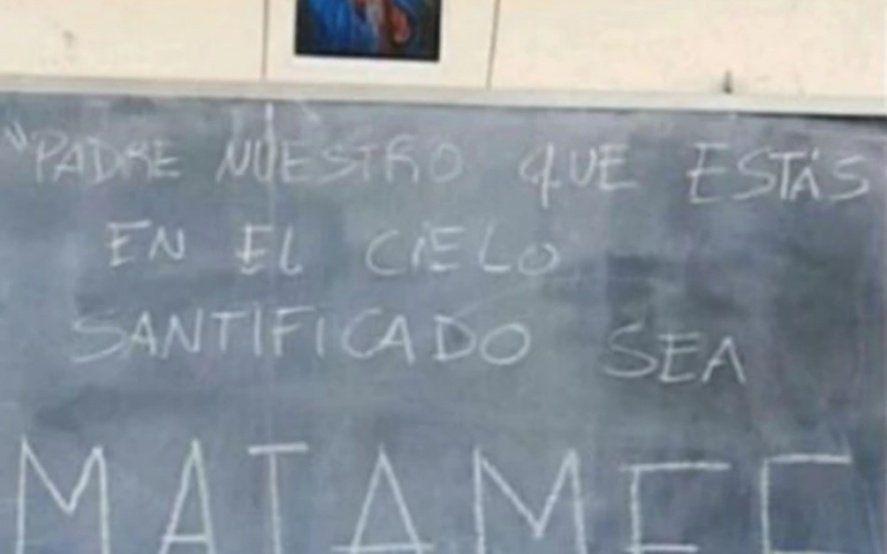 """""""Santificado sea Miameee"""": estudiantes le hicieron altares y estampitas a Ricardo Fort para aprobar las materias"""