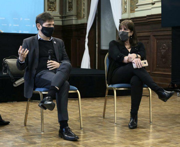 Kicillof encabezó el evento por el Día del Periodista en Casa de Gobierno.