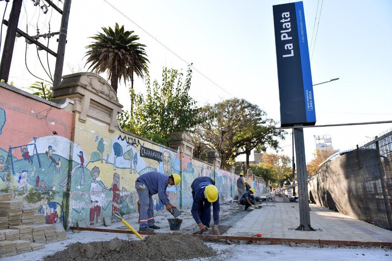 El Municipio informó nuevos cortes por la obra en la estación de trenes (Foto de archivo)