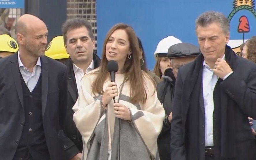 """""""No escuchen a los que cargan el futuro con pasado"""": El pedido de Macri, Vidal y Larreta en un acto en Capital Federal"""