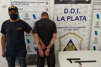 El hombre violento de género que cayó en La Plata