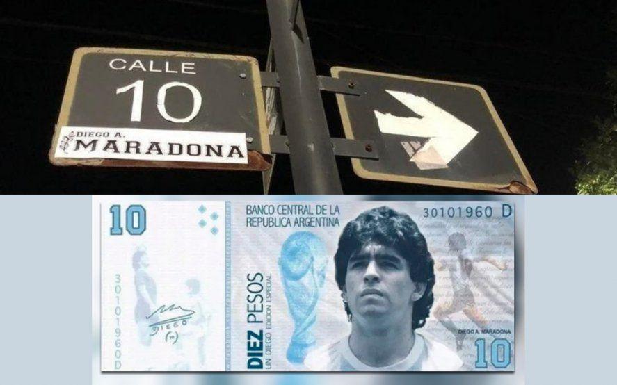 Cientos de reclamos de homenajes a Diego Armadno Maradona coparon el sitio de peticiones online Change.org.