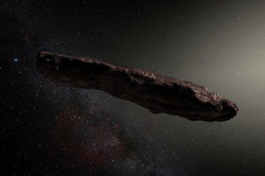 ¿que es el oumuamua? el objeto interestelar que intriga a los especialistas