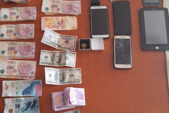 En los allanamientos se recuperaron objetos robados