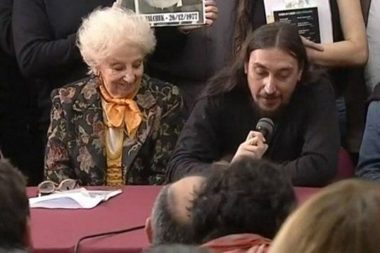 abuelas de plaza de mayo presento al nieto 130: javier matias