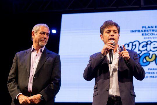 Kicillof y Ferraresi presentan el programa de vivienda Casa Propia